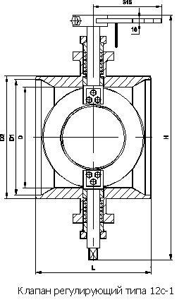 Клапан 12с-2-5