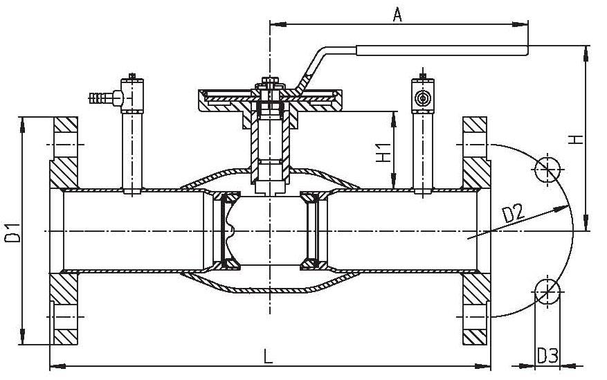Кран шаровой Vexve тип 143