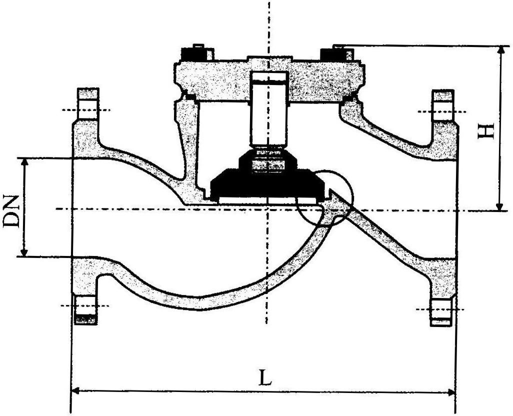задвижки чугунные клиновые с выдвижным шпинделем